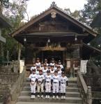 2017年 飯盛神社参拝